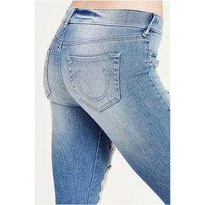 True Religion Women's Legging Denim Jean Pants